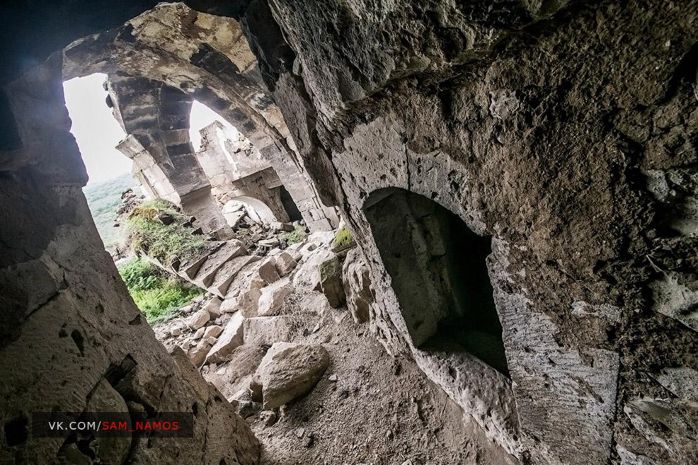 Пещерный город — призрак Старый Гёре (eski Göre)