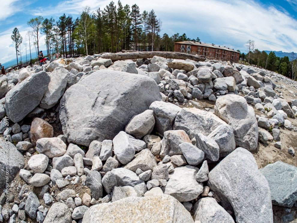 Каменная река в Аршене, Бурятия