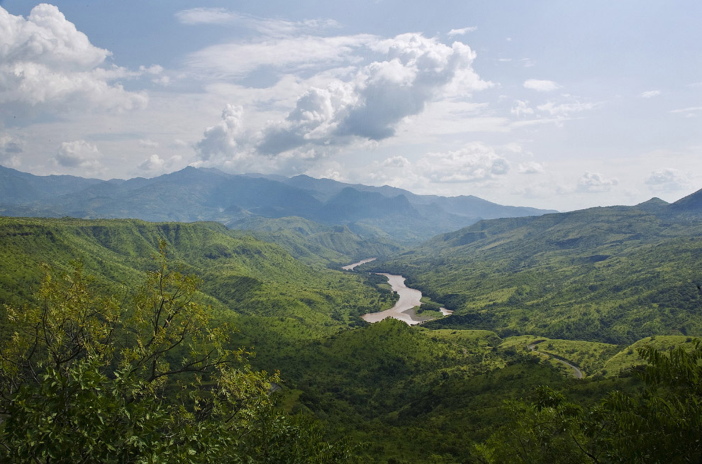 Річка Омо на півдні Ефіопії