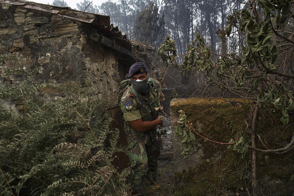 Португальский солдат