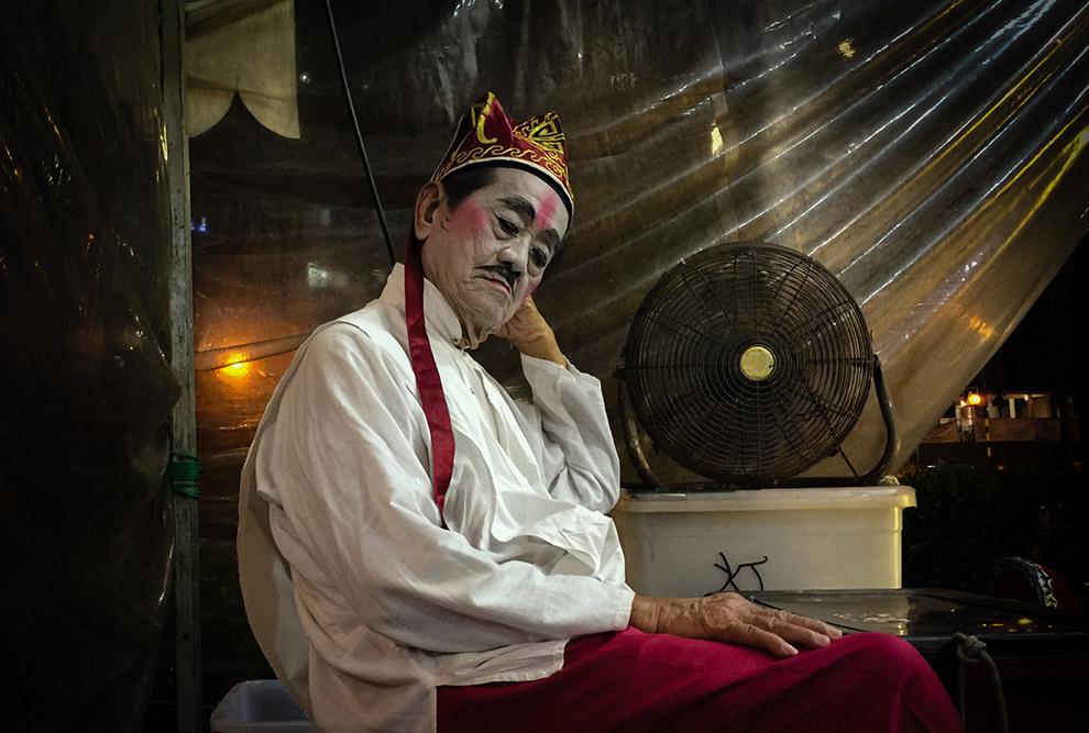 Китайский уличный актер