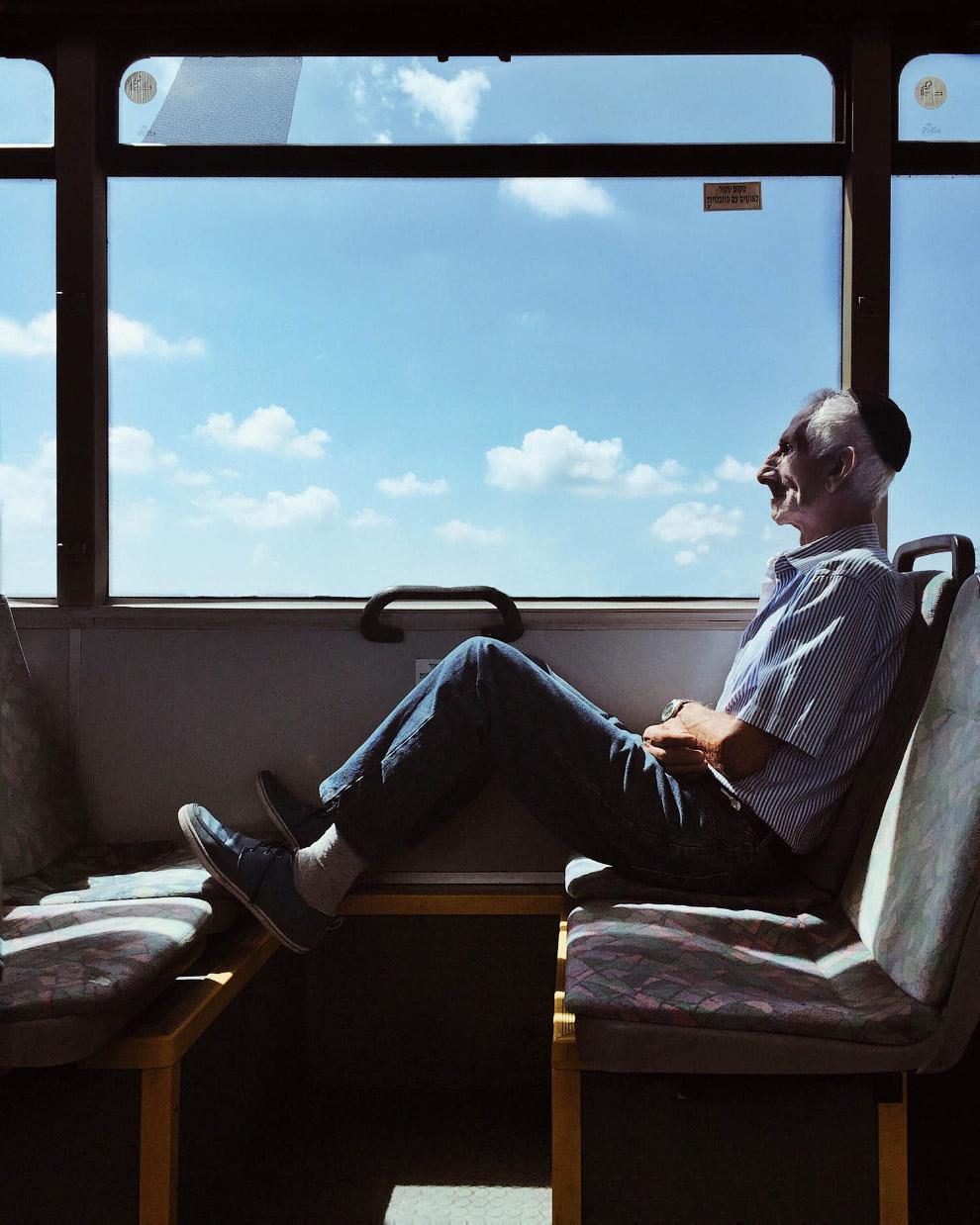 В израильском автобусе