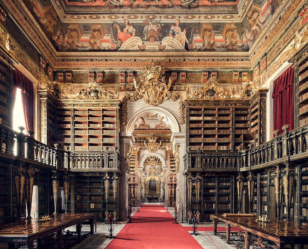библиотека Университета Коимбры