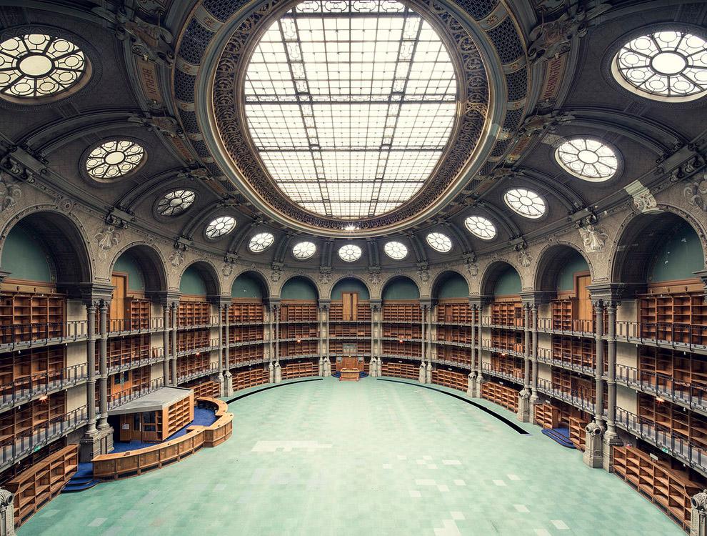 Bibliothèque Nationale de France, Salle Ovale