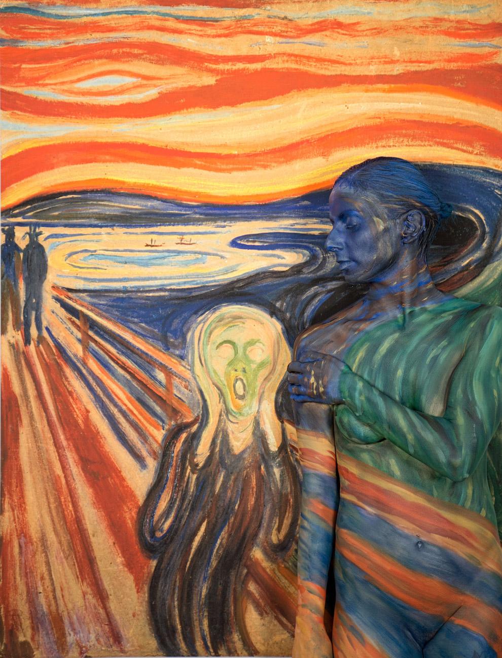 Картина «Крик» Эдварда Мунка
