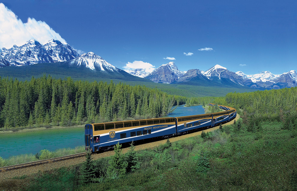ROCKY MOUNTAINEER (КАНАДА)