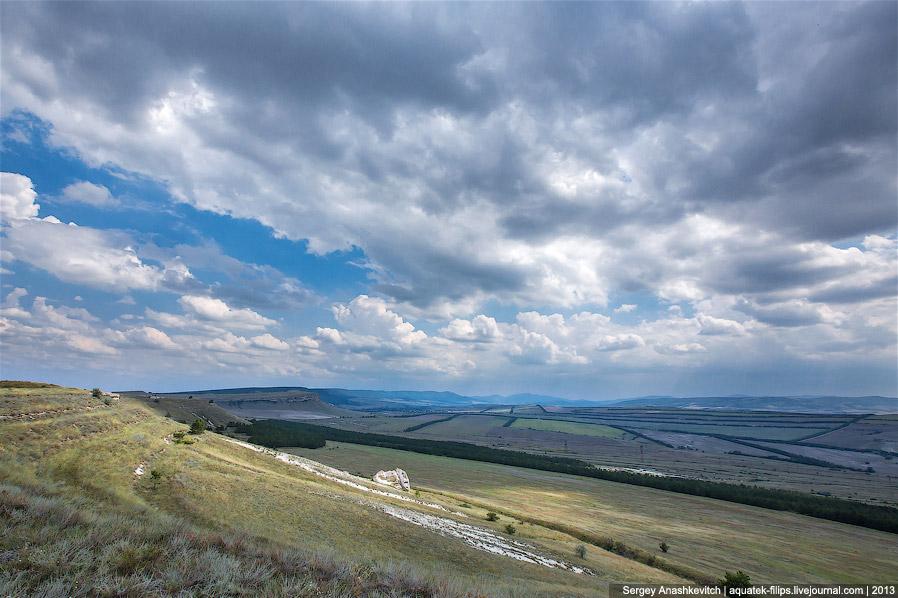 Виды, открывающиеся с плато горы Аджилар