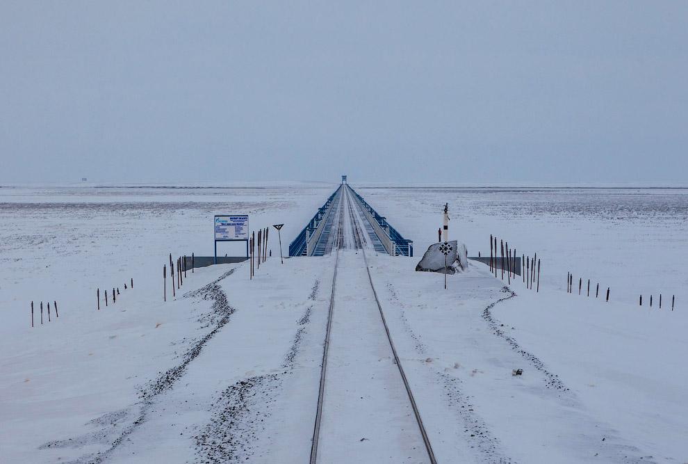 Самый длинный мост (3,9 км) за полярным кругом