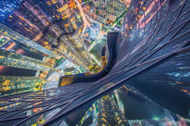 National Geographic: города с высоты от путешественников