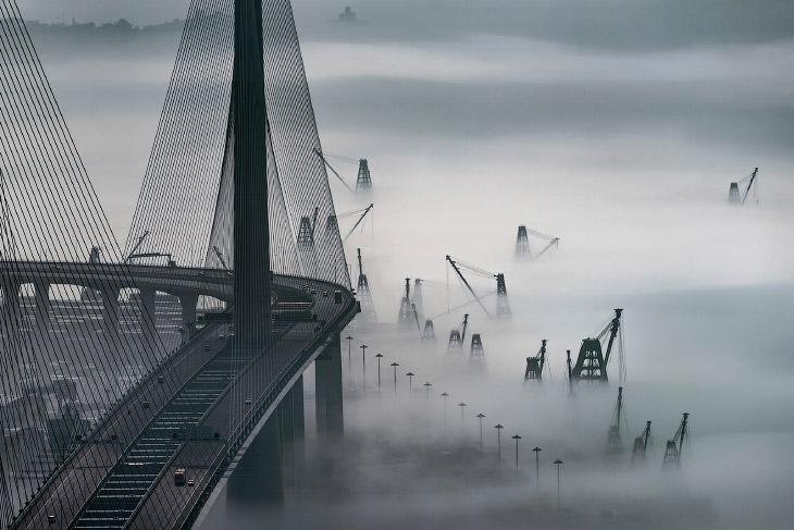 Туман в Гонконзі
