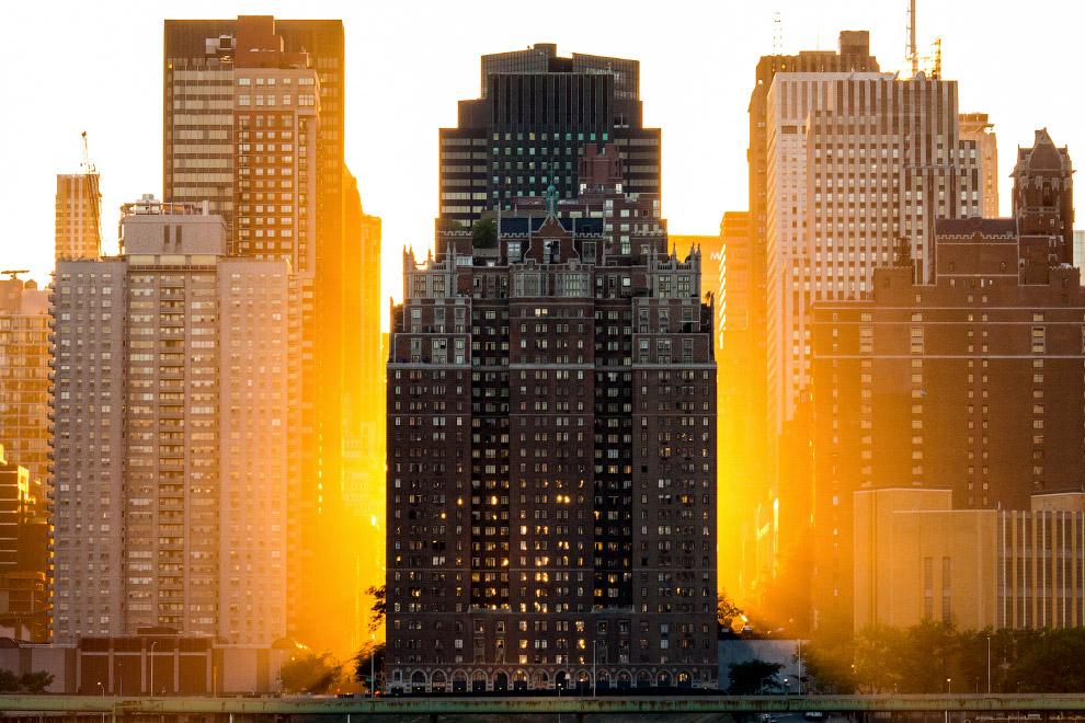 Манхэттенский закат