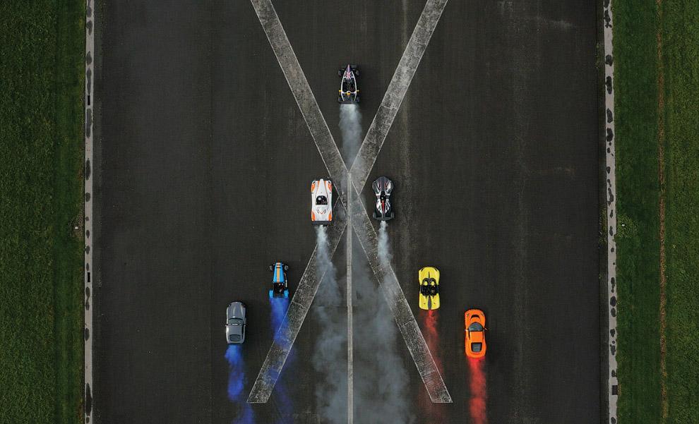 Съемка известной автомобильной передачи Top Gear
