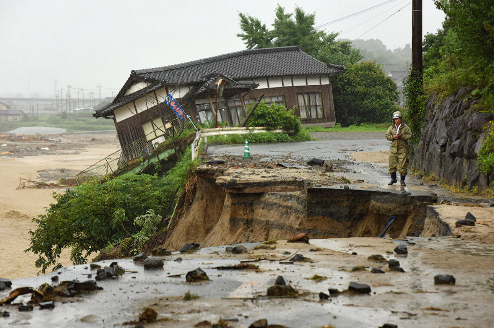 Наводнение в Японии