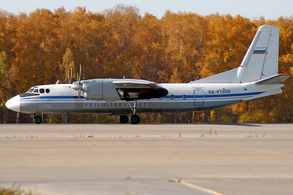 Пассажирский самолёт Ан-24