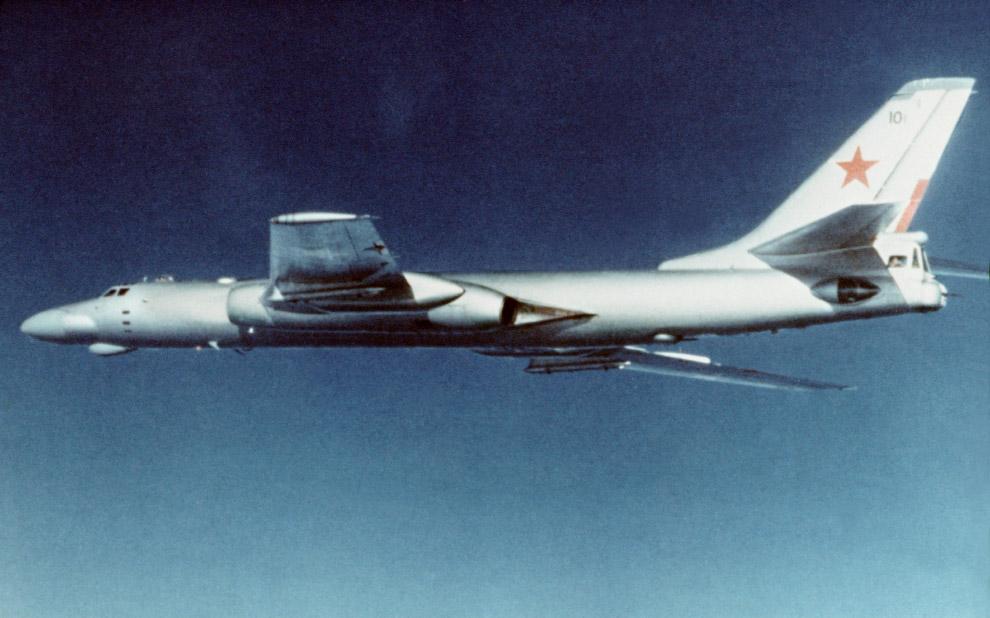 Бомбардировщик Ту-16К