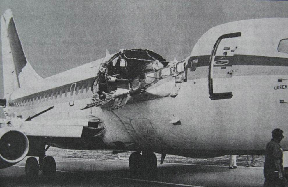 Происшествие с Boeing 737 над Кахулуи