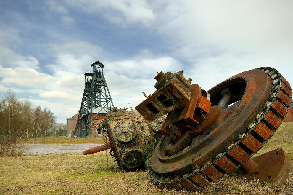 Крупнейшие угольные шахты Валлонии, Бельгия