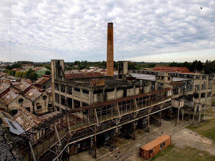 Завод по засолке мяса, город Фрай-Бентос, Уругвай