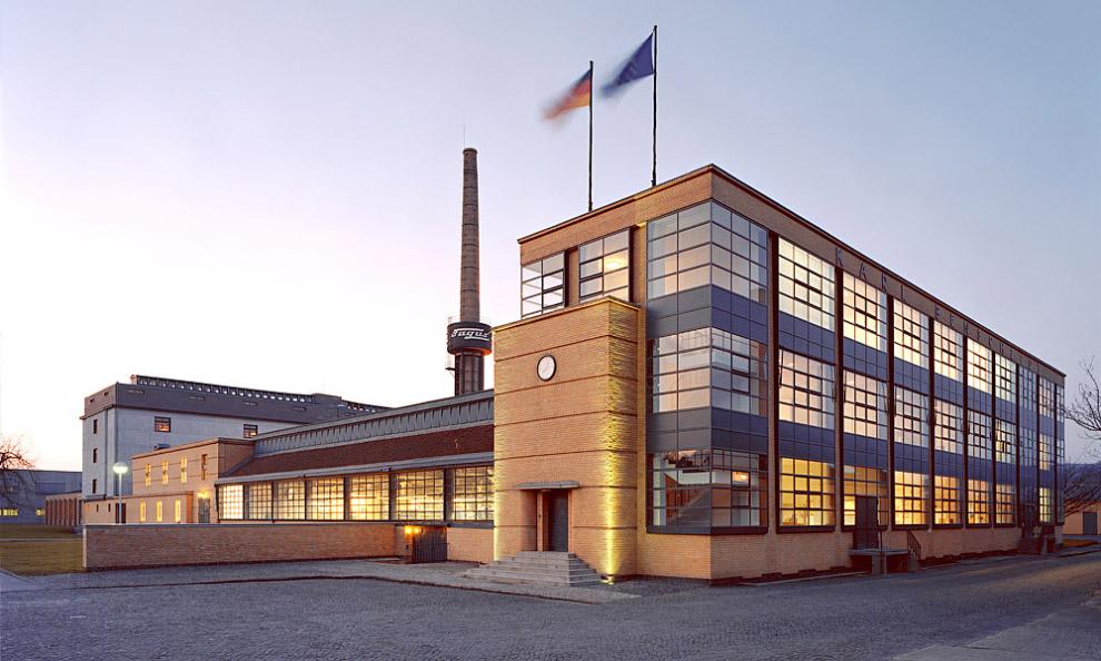 Обувная фабрика «Фагус» в немецком городе Альфельде