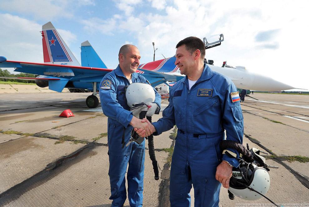 Владимир Кочетов и Сергей Щеглов.