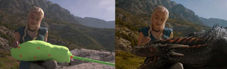 Спецэффекты в фильмах: до и после