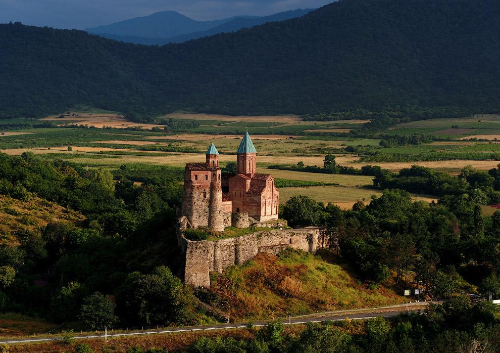 Крепость и замок Греми в Кахетии