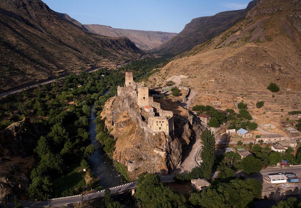 Крепость Хертвиси, одна из старейших в Грузии