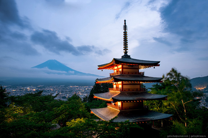 Путешествие по Японии и перелёт с Сахалина