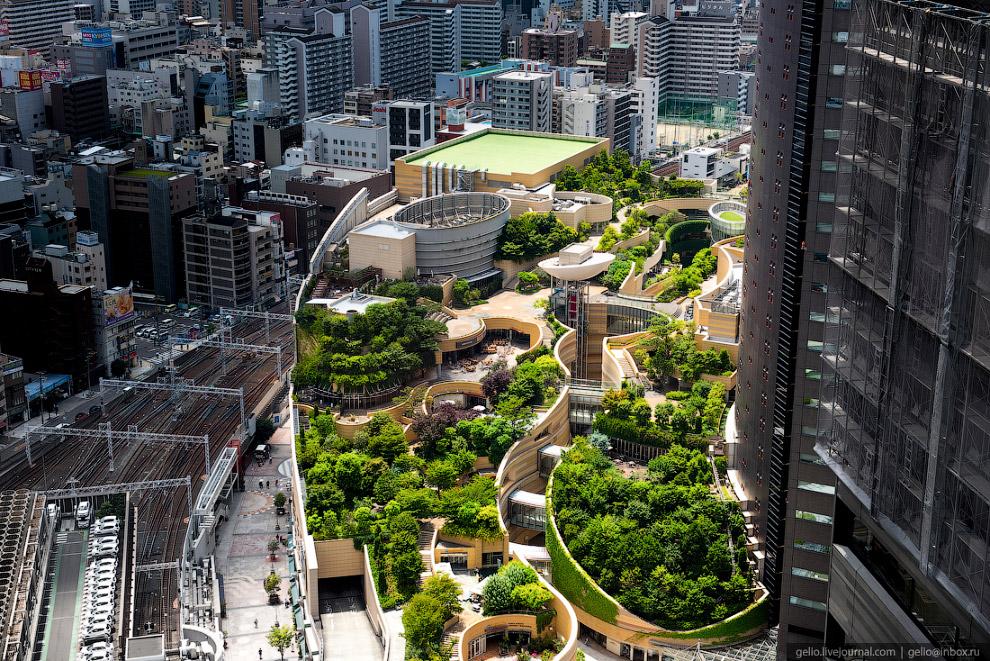 Намба-парк в Осаке