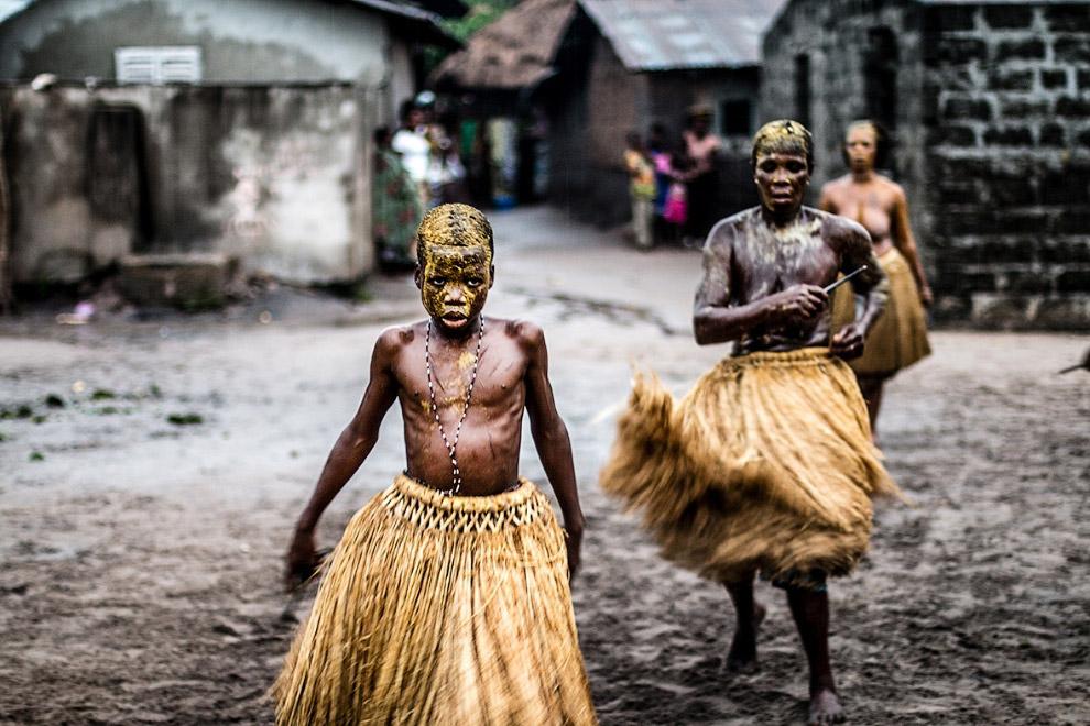 Племя в Западной Африке