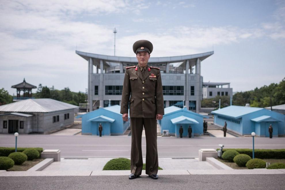 Лейтенант корейской народной армии