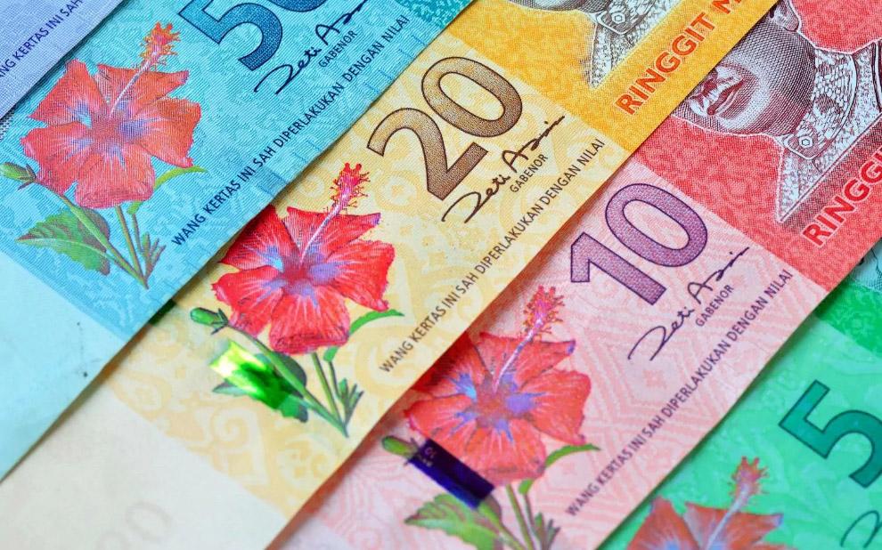 Красивые малайзийские банкноты
