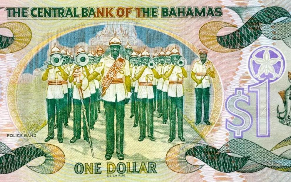 Однодолларовая банкнота с Багам