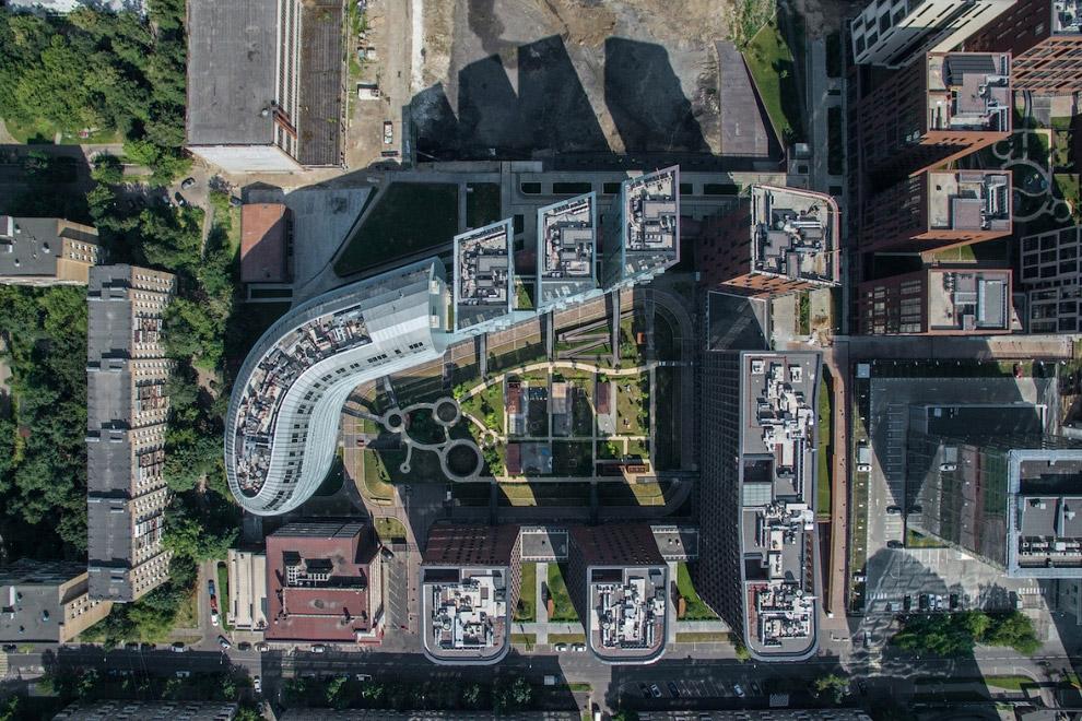 Жилой комплекс «Садовые кварталы», архитектор С.А.Скуратов