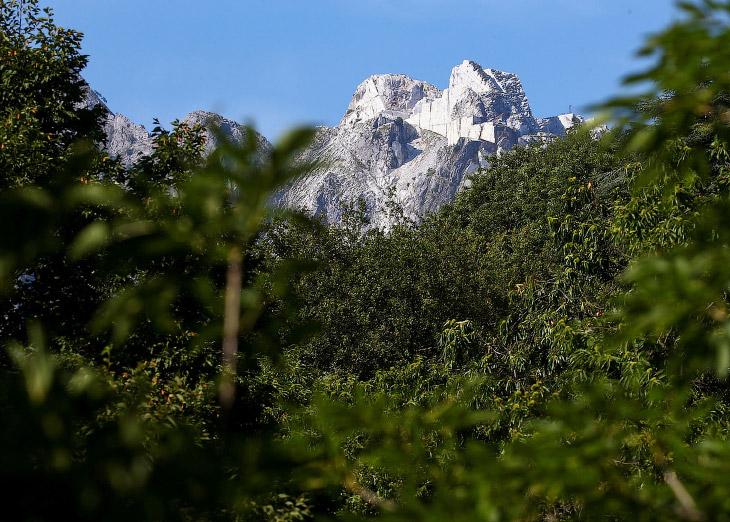 Вот она, та самая гора Монти Альтиссимо
