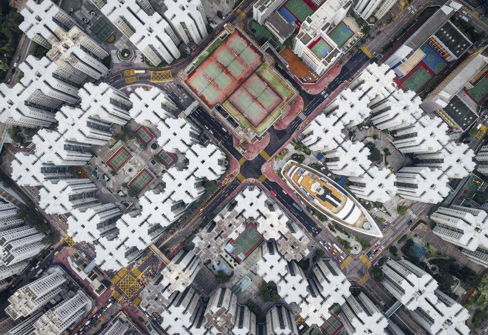 Город-крепость Коулун в Гонконге