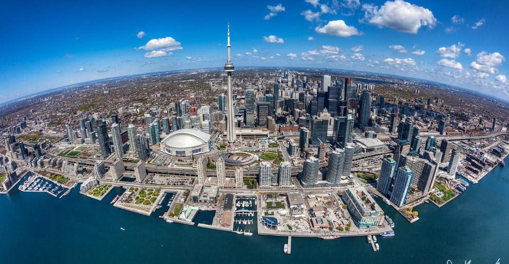 Торонто с высоты