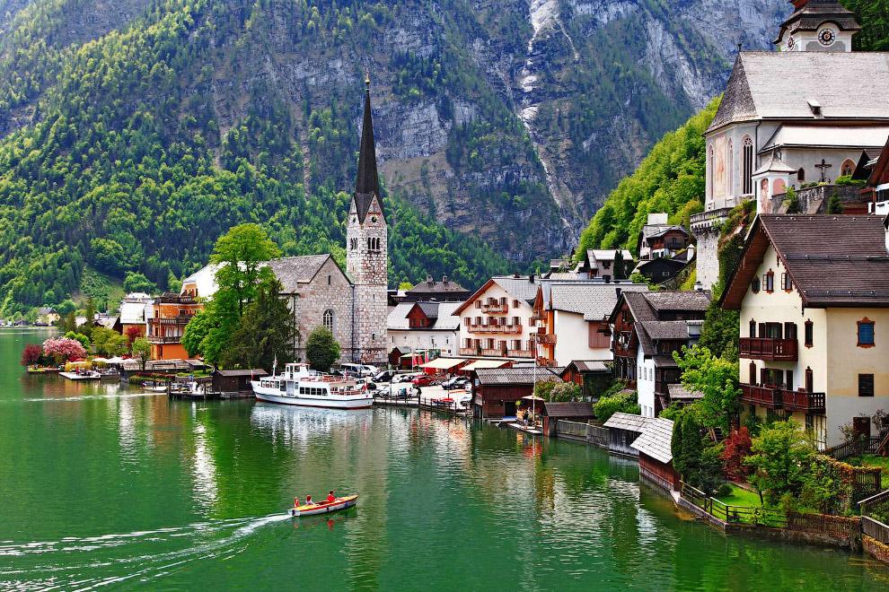 венский лес — горный массив в Австрии