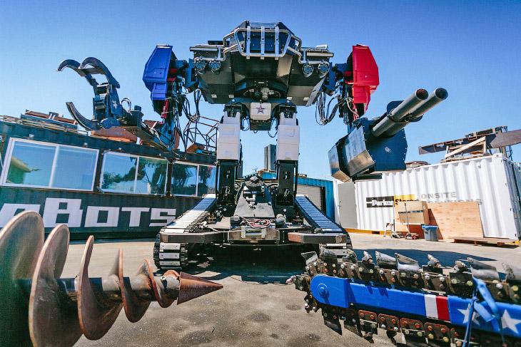 Американский боевой робот Eagle Prime