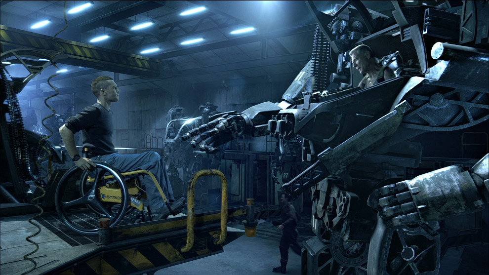 Боевой робот из «Аватара»