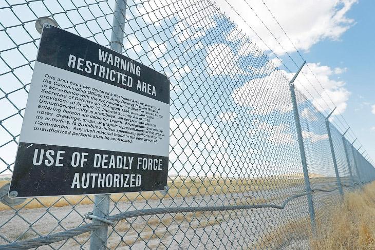 Сверхсекретный американский военный объект Dugway Proving Ground