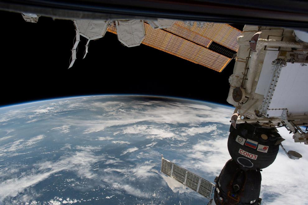 Великое солнечное затмение и «Союз» с МКС