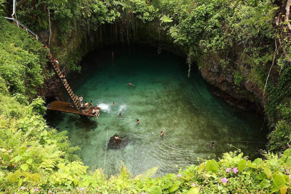 Подземная купальня