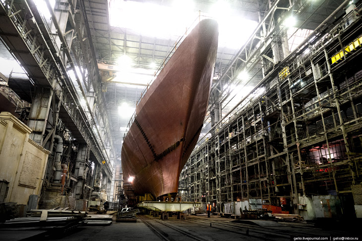 Строительство российского флота