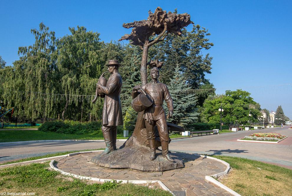 «Дерево жизни» в Центральном парке культуры и отдыха