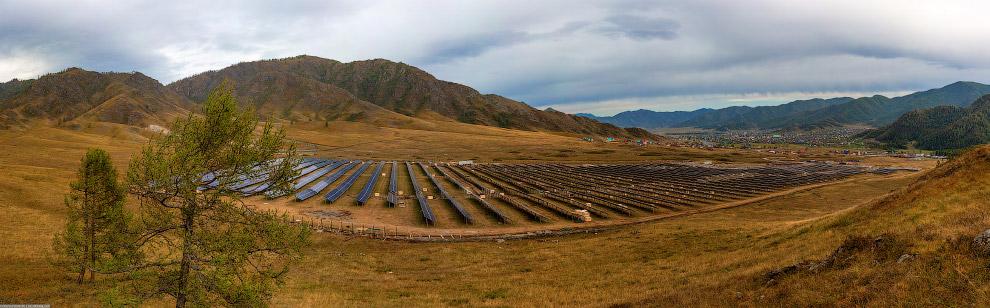 Онгудайская солнечная электростанция