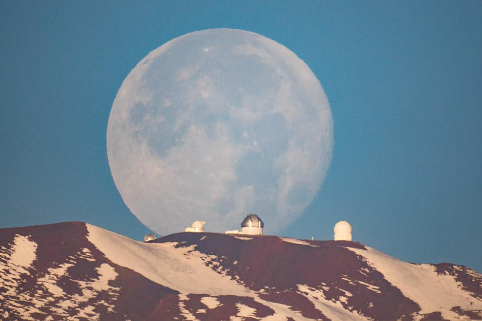 Луна на Гавайях