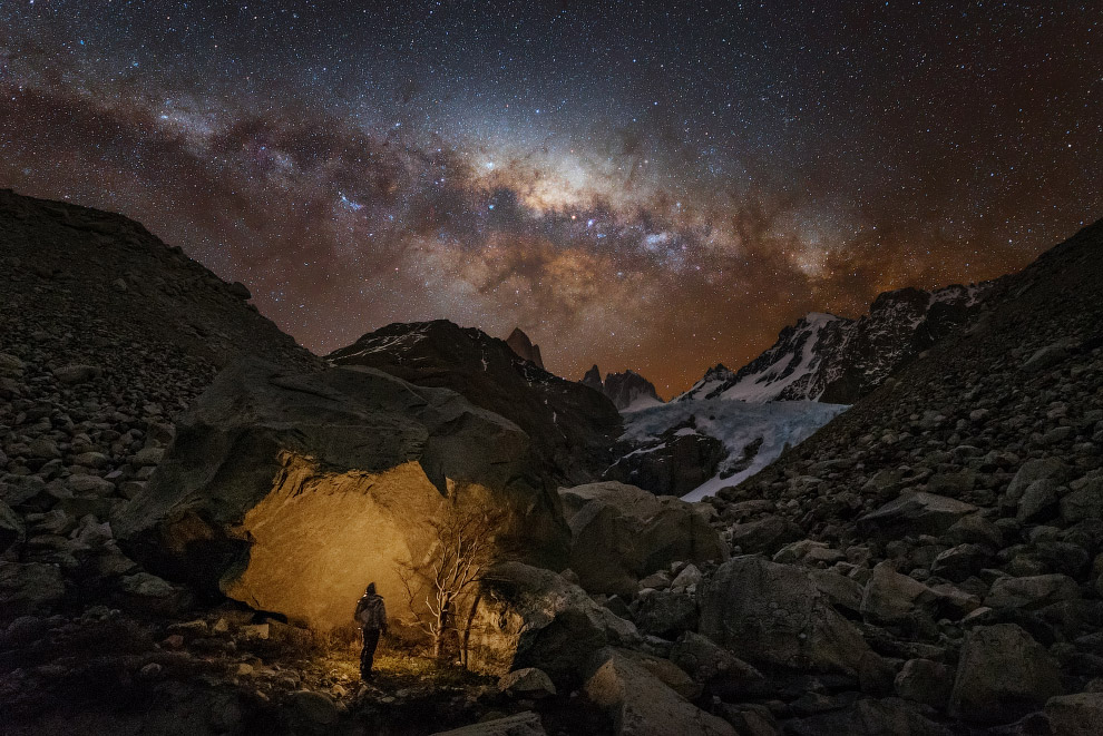 Млечный путь в Аргентине
