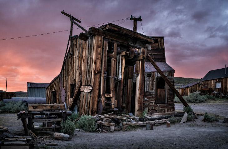 Город-призрак в Калифорнии