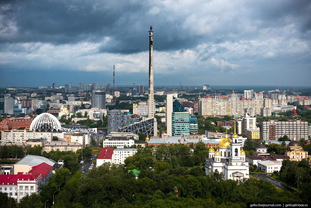 Недостроенная телебашня высотой 219 метров